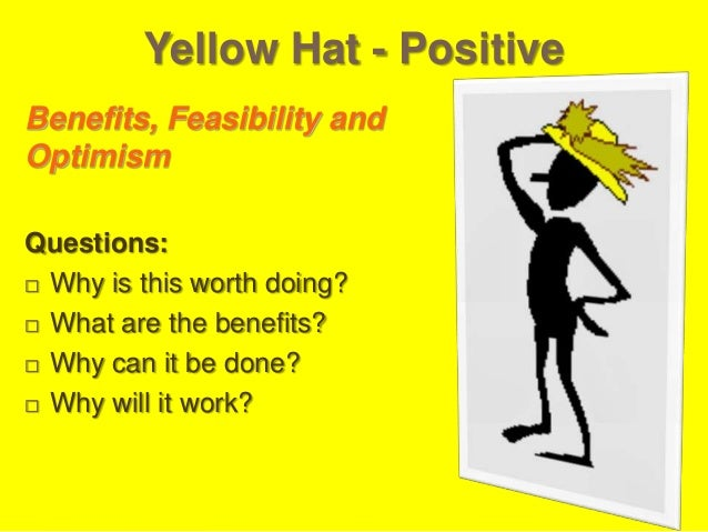 Green Hat - Creative Creative Ideas, Alternatives, Suggestions, and Proposals Questions:  Are there any additional altern...