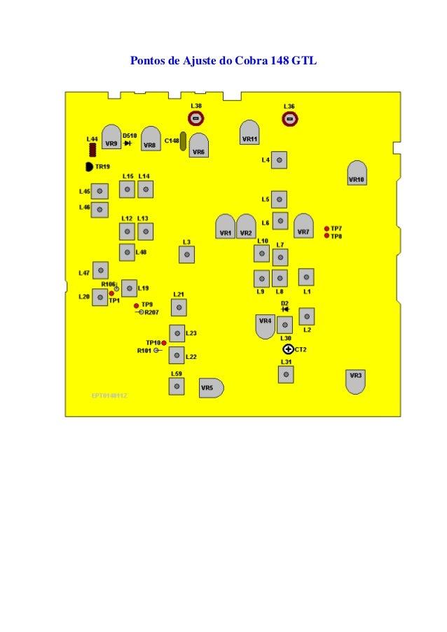 cobra 148 gtl manual em portugues rh pt slideshare net cobra 148 gtl dx service manual cobra 148 gtl manual español