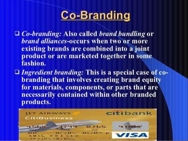 Co Branding Or Ingredient Branding