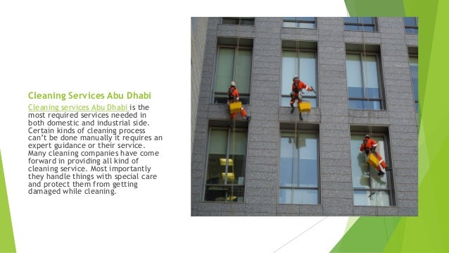 Cobrasmartcare provides cleaning services abu dhabi