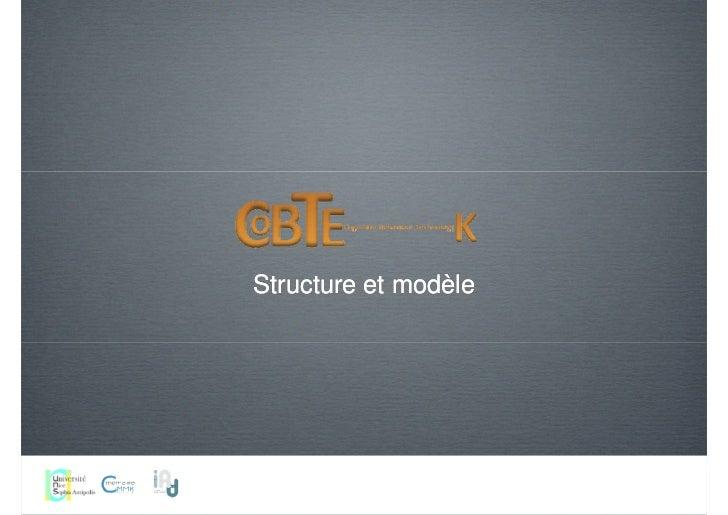 Structure et modèle