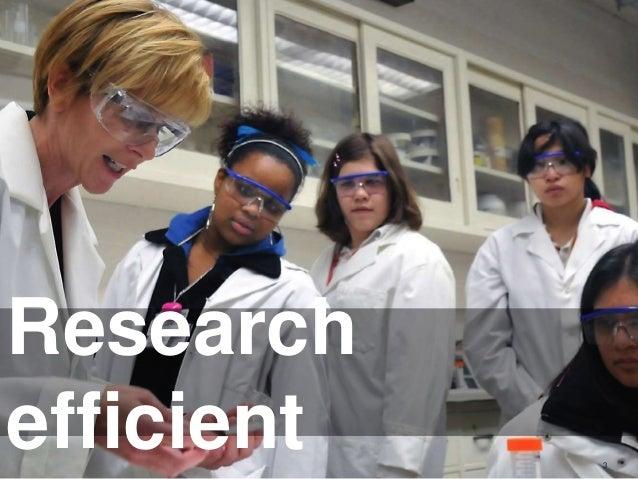 OGC ® Considerations 3 Research efficient