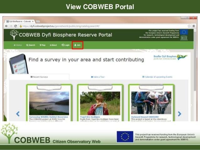 View COBWEB Portal