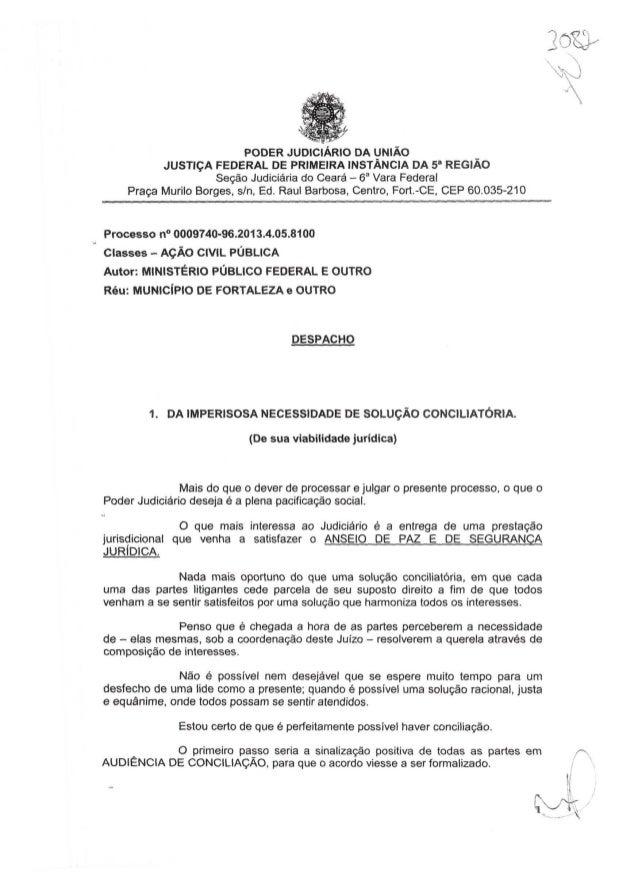 Decisão Ação Civil Pública - Cocó (30/09/2013)