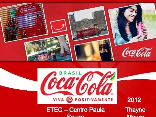 HISTÓRIA DA COCA-COLA 1886 – 1892 Nasce a fórmula da coca-cola Começa a ser comercializada em farmácias