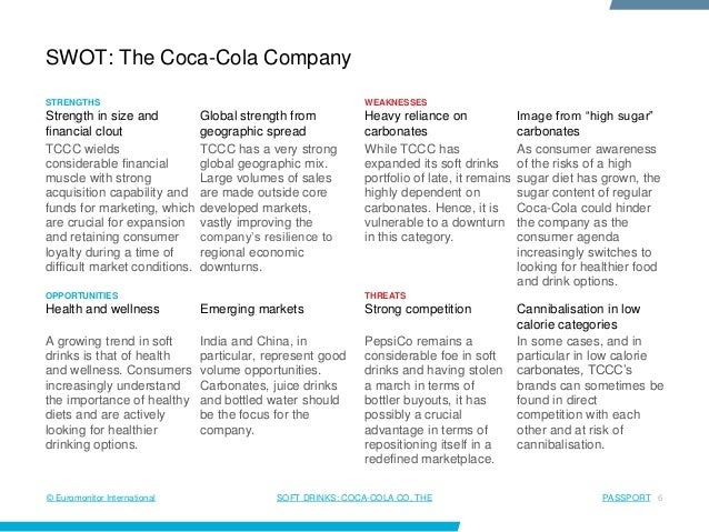 swot analysis coca cola uk Swot analysis (or swot matrix) is a strategic planning technique used to help a  person or  is spreading coca-cola has used this in their television ads in  order to effectively target a customer, such as appeal to senses  tam uk  retrieved 2012-06-03 jump up ^ blake, martin wijetilaka, shehan (26 february  2015.