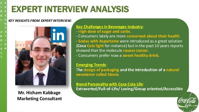 EXPERT INTERVIEW ANALYSIS KEY INSIGHTS FROM EXPERT INTERVIEW: Mr. Hicham Kabbage Marketing Consultant Key Challenges in Be...