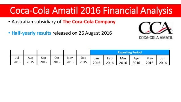 Coca-Cola revenue and income 2009-2017
