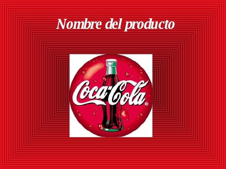 Nombre del producto