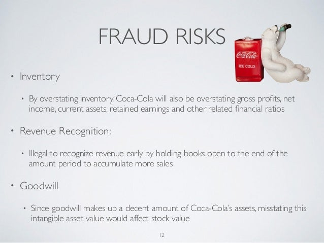 coca cola audit risk Highly qualified financial and business management professional with 12 years of experience in the functional areas of corporate finance & treasury, planning & budgeting, financial accounting & controls, corporate reporting, audit & assurance, financial risk monitoring, business automation & process reengineering and related business operations.