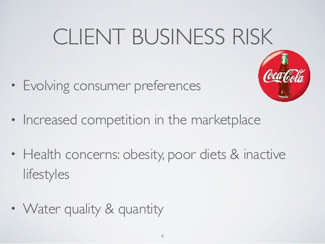 coca cola brand audit This week's blog is centred on the external forces that affect the coca-cola brand, otherwise known as macroeconomic factors, as well as the microeconomic factors- to which the brand has direct control of.
