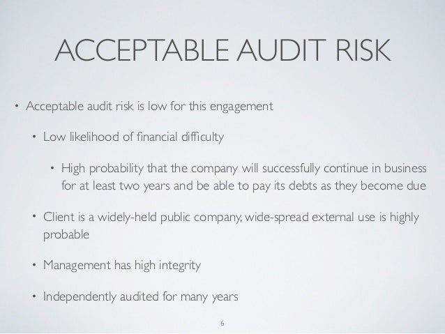 auditors concern on business risks As the internal audit profession prepares to gather for a major annual conference, multiple survey results show internal auditors continue to juggle concerns about compliance, strategic business risk, resources, and technology the institute of internal auditors will host the 2014 general audit .
