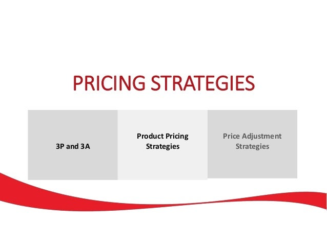 how will a firms pricing strategy Elizabeth wasserman is editor of inc  the first step is to get real clear about what you want to achieve with your pricing strategy:  but successful firms use.