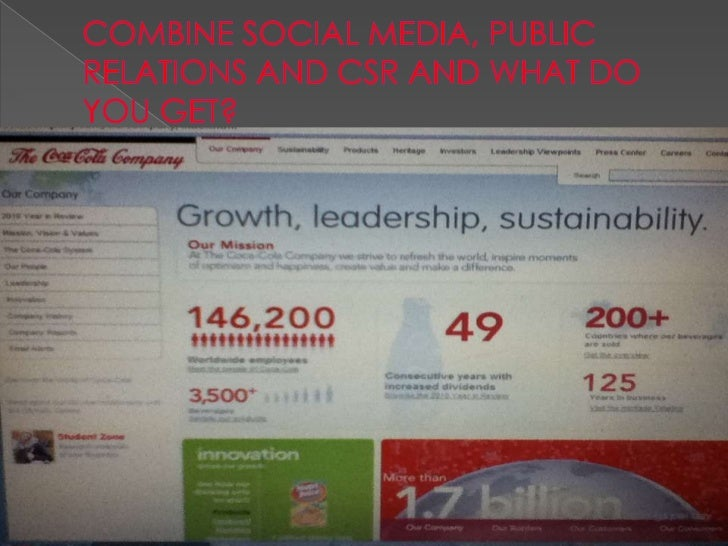 social media in public relations These statistics show just how much impact social media has had on the public relations industry from a statistical view, but what about the day to day changes social media has made in the working world of pr.