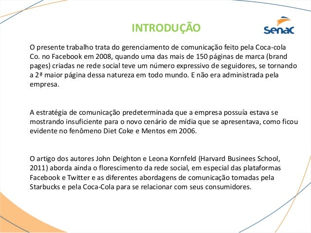 Coca cola no facebook Slide 2
