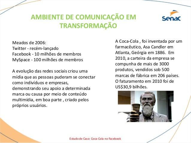 Coca cola no facebook Slide 3