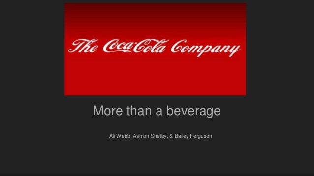 coca cola marketing audit 2 abstract this paper is a strategic analysis of the coca-cola company (coca-cola), a leader in the beverage industry coca-cola, the world's leading.
