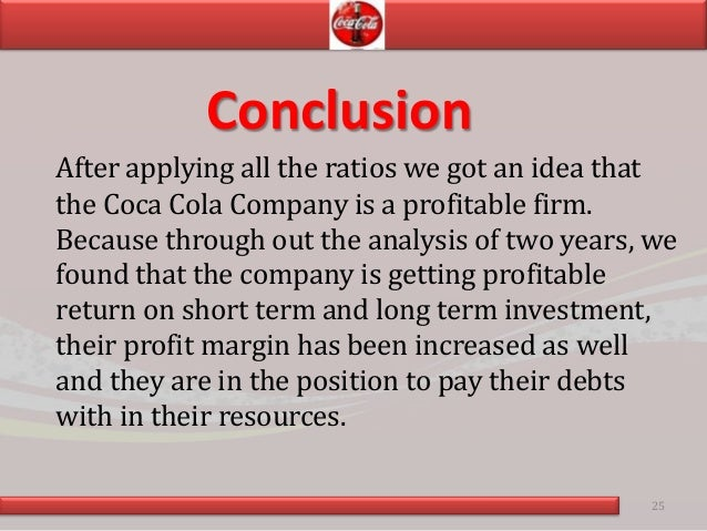 conclusion from analysis liquidity ratio Ratio analysis and statement evaluation  a high liquidity ratio indicates that a business is holding too much cash that could be utilized in other areas.