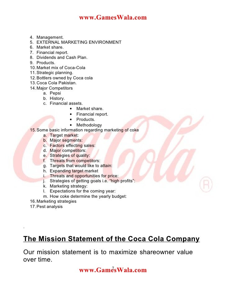 summer training report on processing hindustan coca cola beverages private limited Here are the top 25 summer internship profiles at britannia industries limited summer internship - britannia industries limited hindustan coca-cola beverages.