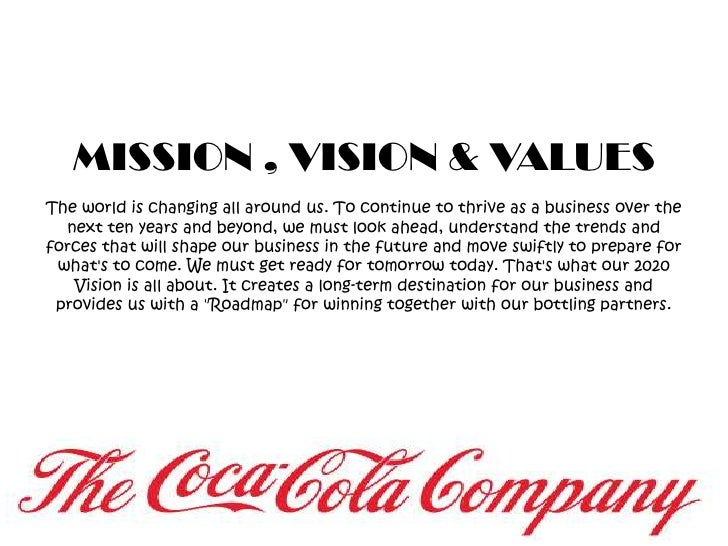 Our Partners World Vision The CocaCola Company - induced.info
