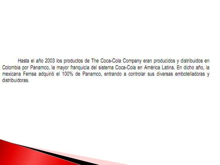    Depende del tipo de mercado.    Los precios de los productos de Coca-Cola    varía según la marca y el tamaño. Los    ...
