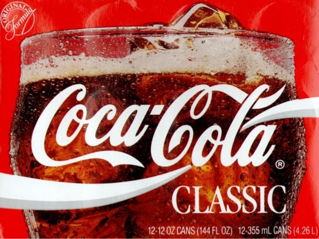 Coca-Cola The global drink