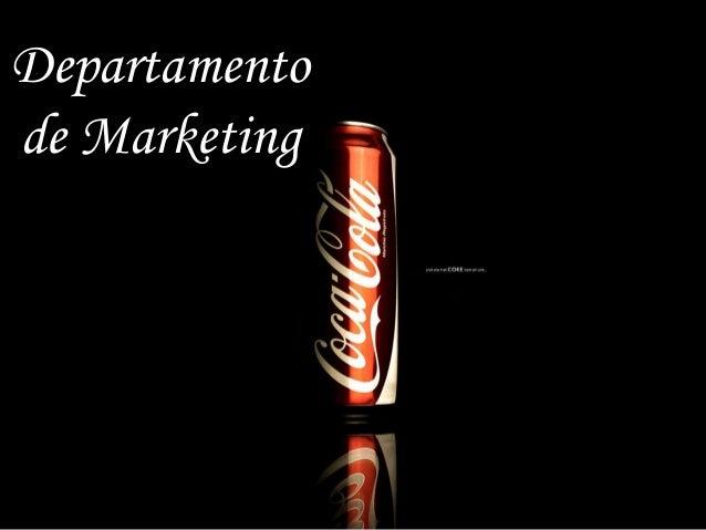 Departamentode Marketing