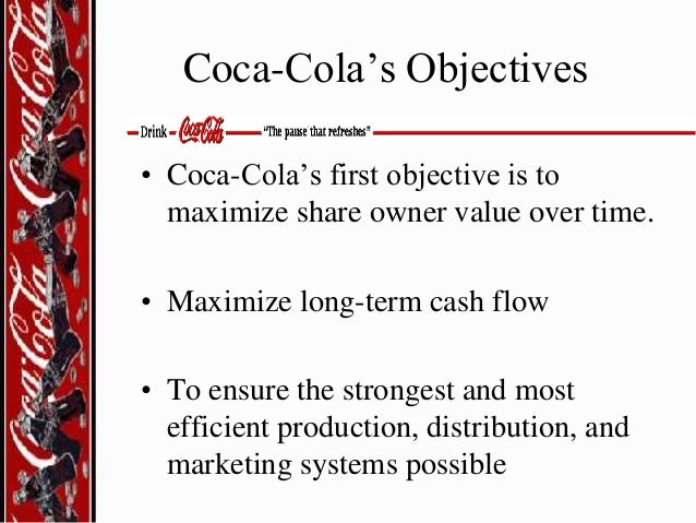 coca cola and internal and external environment Marketing external environment of a business consists of all those external   unlike pestle analysis, swot analysis consider internal factors (strengths and   coca cola and indian political environment – coca cola is the most popular and .