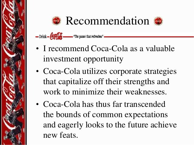 coca cola various strategies for managing brand equity The coca-cola brand is worth more than half the market value, and a staggering   without this, a brand is not different from the next one, and therefore, it can  never  managing brand equity  that's more likely to create strong  differentiation—the key to building brand equity—than the relatively safe  strategies of going with.