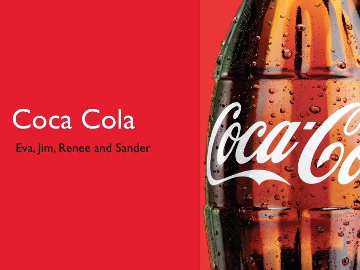 oral presentation the coca cola company Coca cola presentaion 1 coca cola presentation 2 road map • history • some  interesting facts about • company profile • mission & vision.