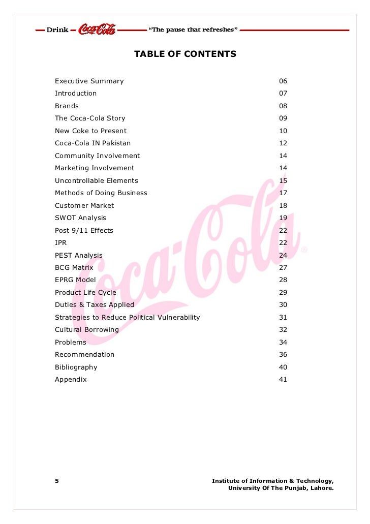 efas analysis of coke Get solution from myaustralianacademycom efas table college essay writing serviceusing the information gathered from your swot analysis conducted in unit ii, create an external factor analysis (efas) table for the company you researched (coca-cola company.