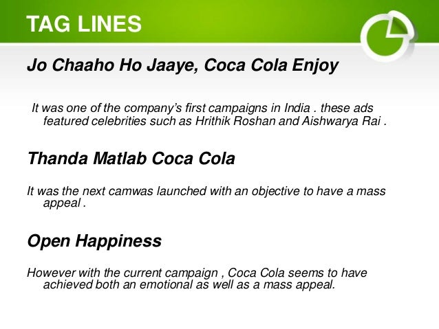 coca cola in india question 4 In march 2000, coca cola, under its indian subsidiary hindustan coca cola   on august 4, 2002, the samithy organised a massive rally and public   additionally, the panchayat sent a list of 16 questions to the company and.