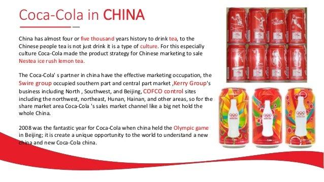 Strategic coca cola in china essay