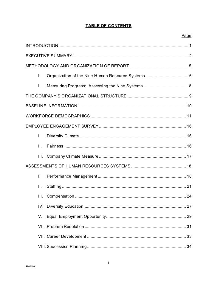 TABLE OF CONTENTS                                                                                                         ...