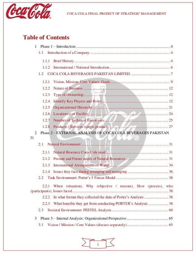 coca cola strategic marketing audit Coca-cola company history, swot analysis, maketing strategies  history, swot analysis, maketing strategies  coca-cola's marketing strategy:.