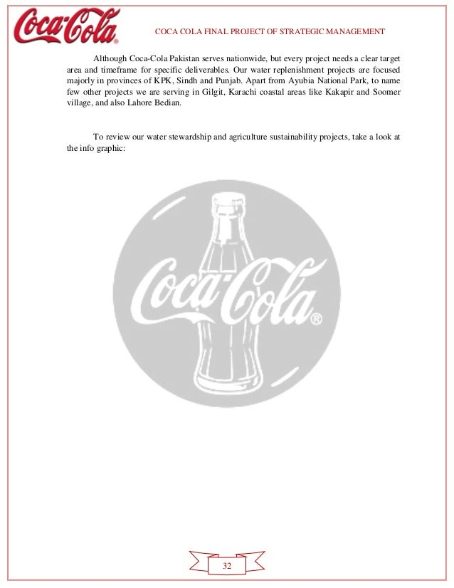 cocacola strategic management Click inside to find the most current coca cola mission statement online the mission is evaluated using our unique framework.