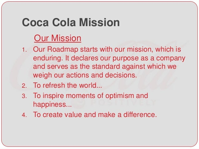 coca cola decision making process Evaluating coca colas understanding of its consumers behaviour the coca-cola company is soft drink a buying decision making process is the selection of.