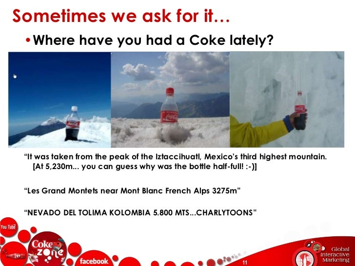 """General comments about the brand and other Coke products are top topics…<br />Positive Conversation Tones<br />""""Coca-Cola ..."""