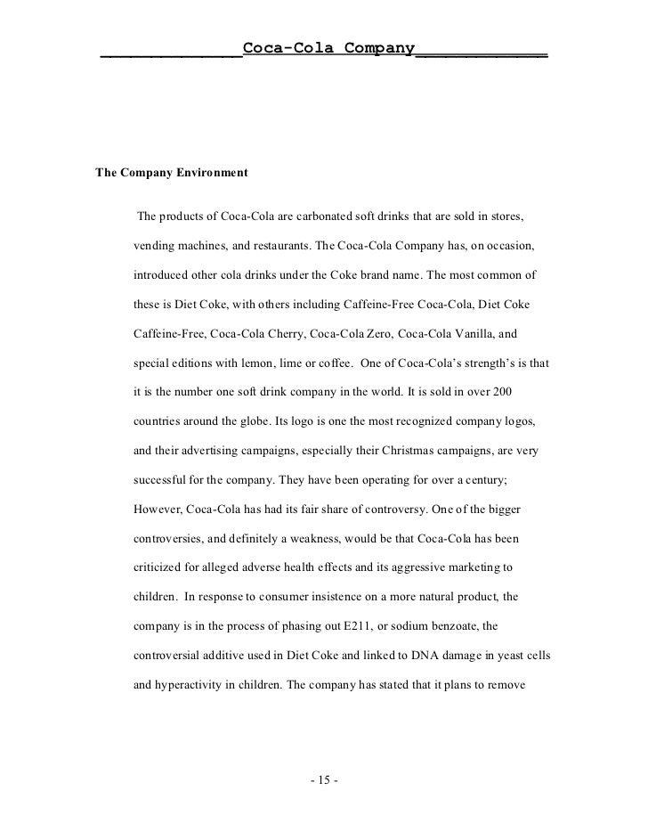 Coca Cola Target Market Essays On Education - image 6