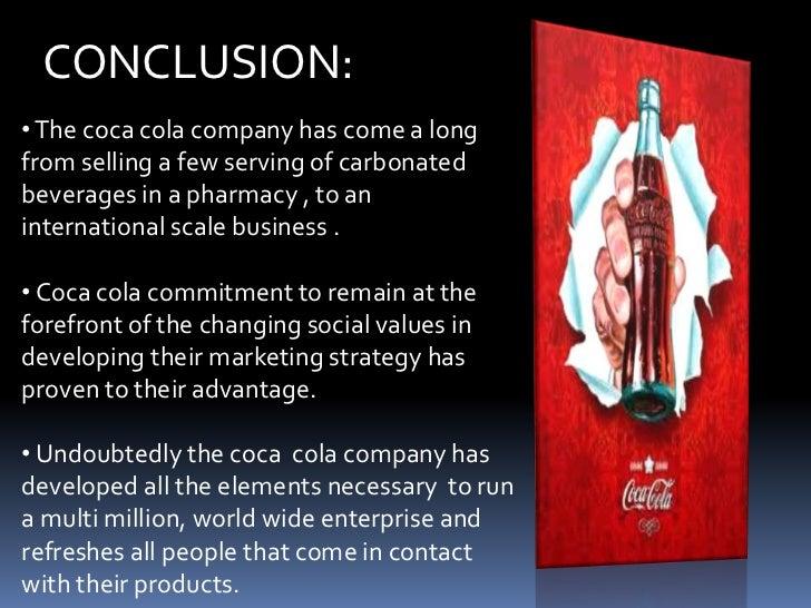 Coca cola conclusion
