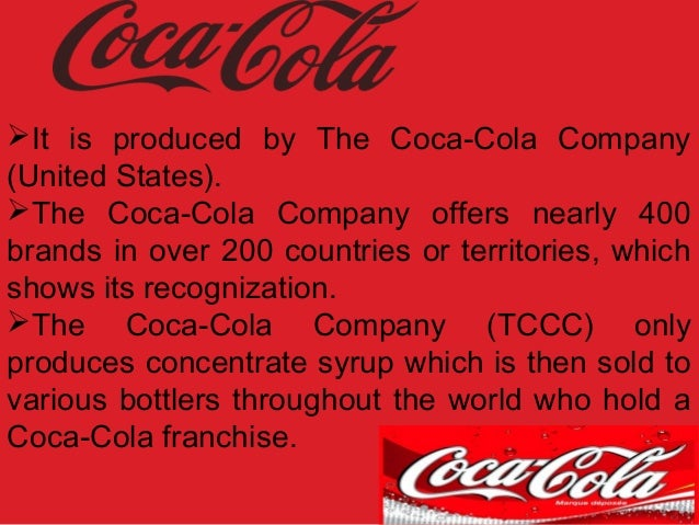 a history of the coca cola company Ko's dividend yield, history, payout ratio the coca-cola company (ko) coca-cola is largely affected by health trends, as obesity and other health concerns reduce demand for some of coca-cola's products.