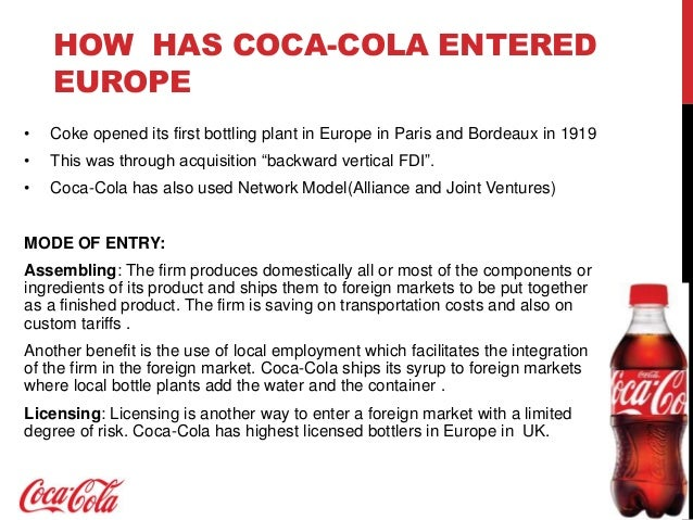 coke strategic analysis The strategic positioning of coca-cola in their global marketing operation the strategic positioning of coca cola in overall strategic analysis and.