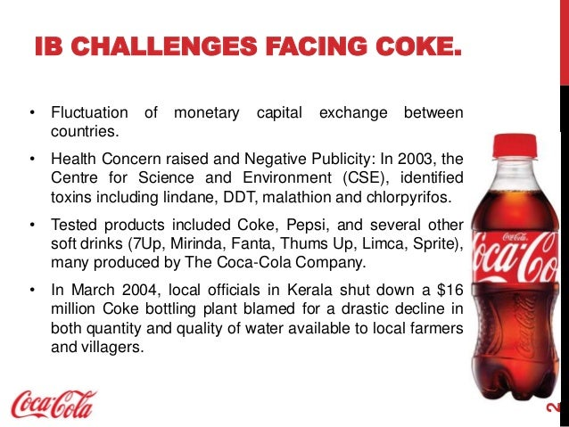 pest analysis of coca cola As the leading beverages company in the world, coca cola almost monopolizes the entire carbonated beverages segment beside it, coca cola also maintain their reputation as the leading company in the world using pestle analysis so that coca cola can.