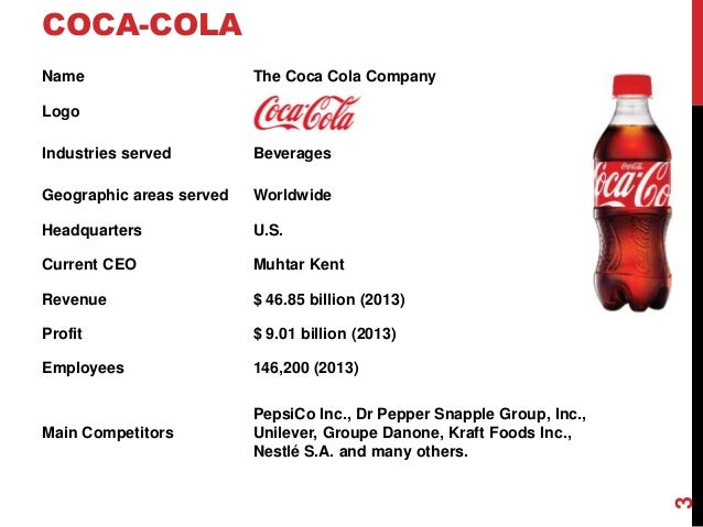 Coca-Cola Co, The in Soft Drinks