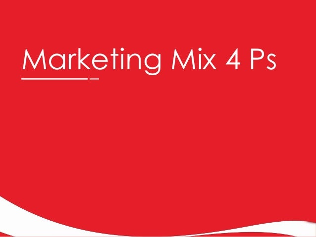 marketting mix on coca cola Extracts from this document introduction marketing objectives new brand i am going to introduce a new coffee drink for coca cola the product will have a section at that when activated heats ups the drink.