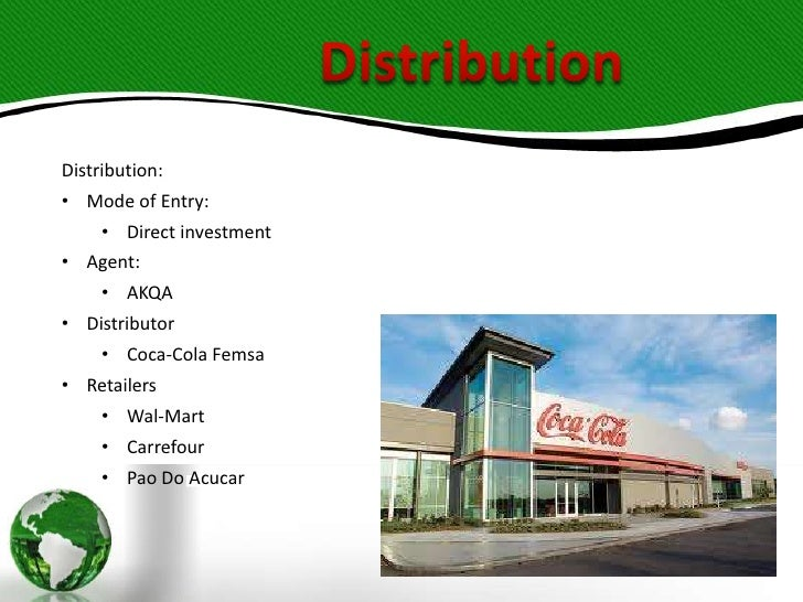 mode of entry startegy of coca cola Cocacola market entry strategy 1 zaheen bin mahmood 2 global market entry strategy of coca- cola and marketing implications.