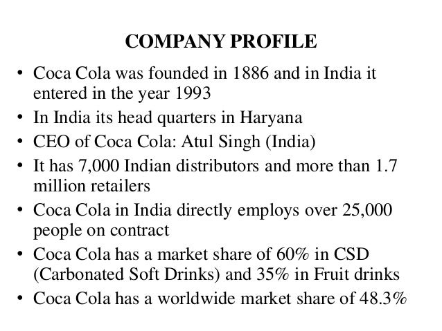 Consumer buying process for coca cola soft drink