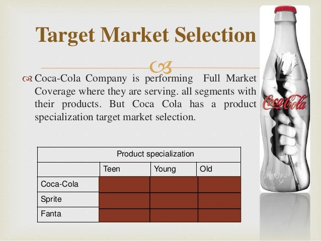 Segmenting targeting positioning of coca cola