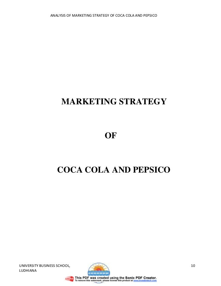 Coca-Cola on Facebook Marketing Strategy Analysis & Solution