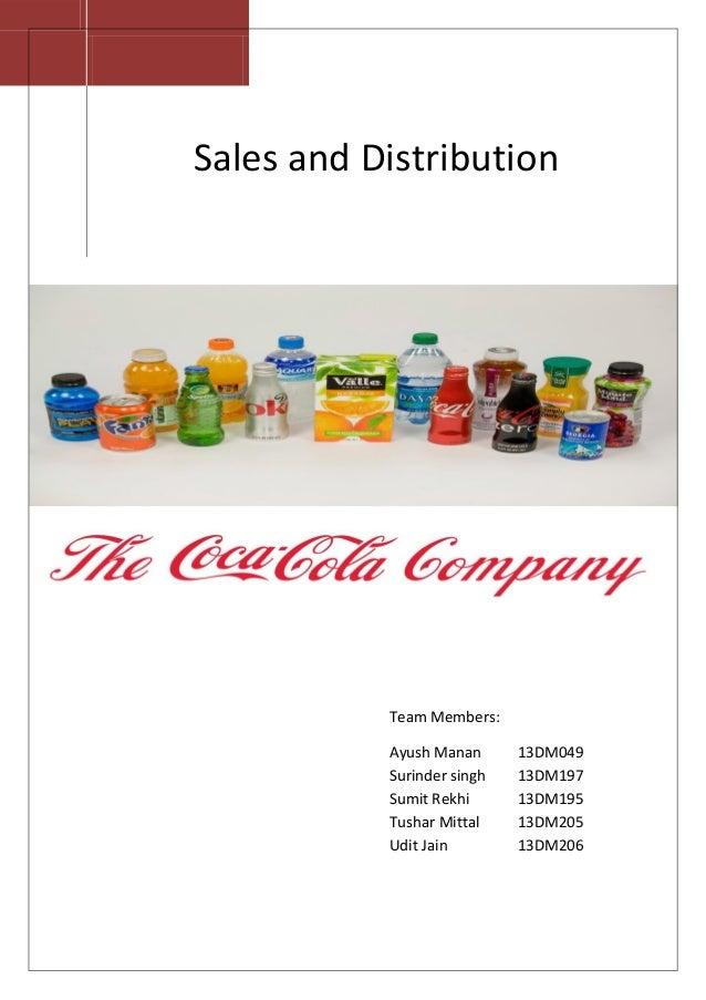 VV Sales and Distribution Team Members: Ayush Manan 13DM049 Surinder singh 13DM197 Sumit Rekhi 13DM195 Tushar Mittal 13DM2...